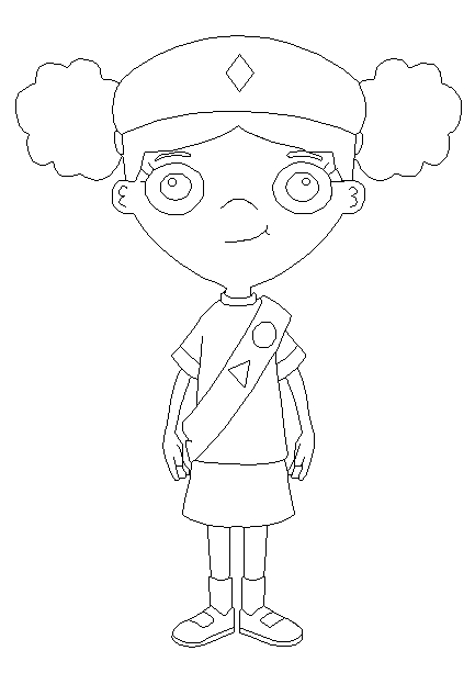 fireside girls coloring pages | fireside girls holly coloring by sullivan84 on DeviantArt