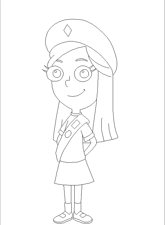 fireside girls coloring pages | mindy fireside girls coloring by sullivan84 on DeviantArt