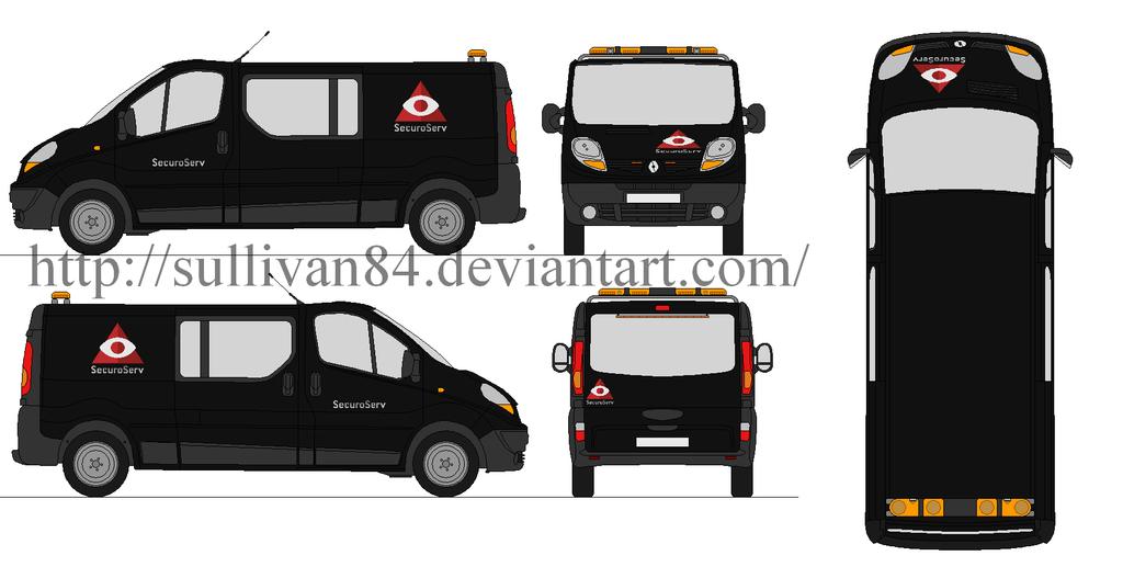 Renault Trafic Sercuroserv by sullivan84