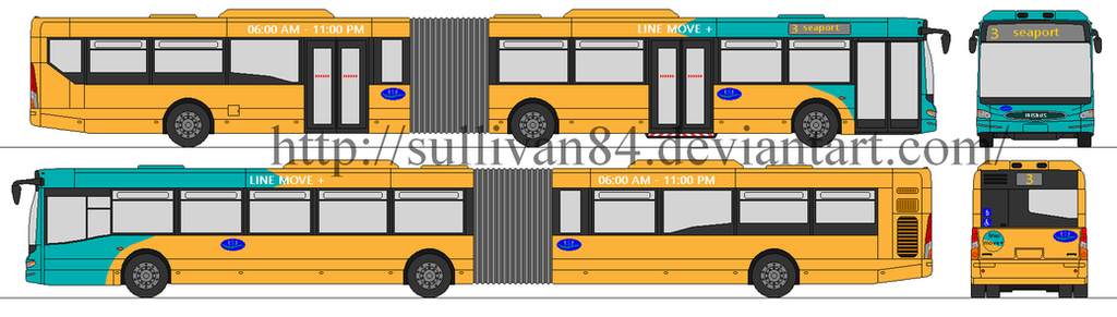 irisbus cityclass artic euro6 TST by sullivan84