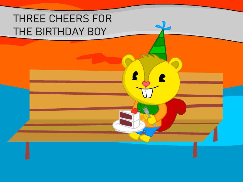 Happy (3rd) Birthday, Smalltail Sun!