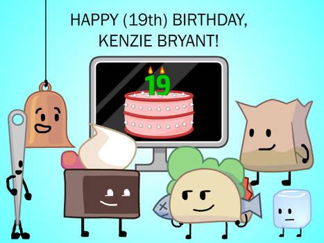 Happy (19th) Birthday, Kenzie Bryant!