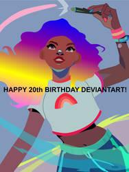 Recreated Picture (Happy 20th Birthday dA!)