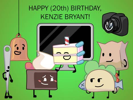 Happy (20th) Birthday, Kenzie Bryant!