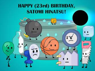 Happy (23rd) Birthday, Satomi Hinatsu!