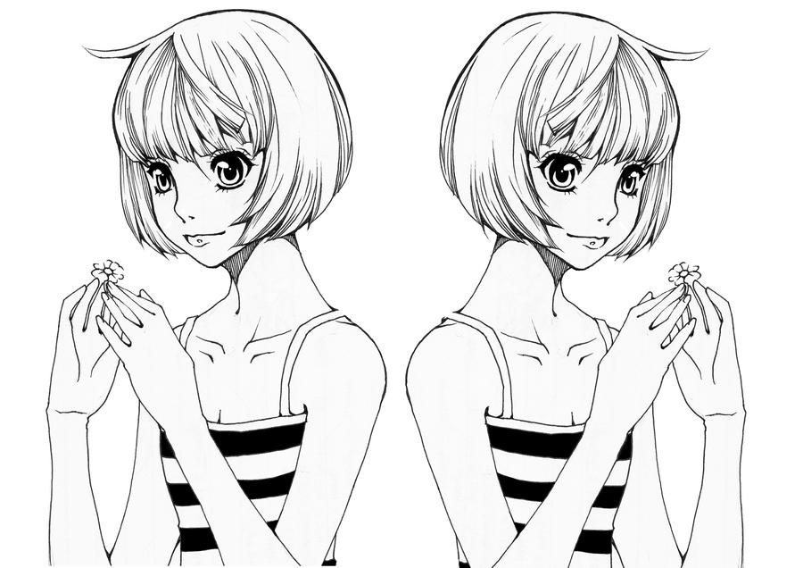 Line Art Joy : Dolcett artwork to download just right