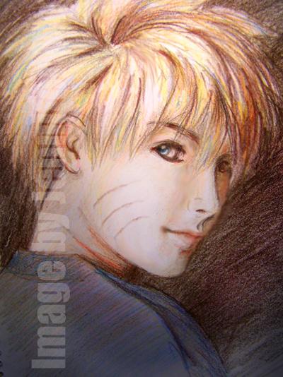 Portrait of Naruto by netang4da1iluv