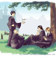 Harry Potter: The Marauders by netang4da1iluv