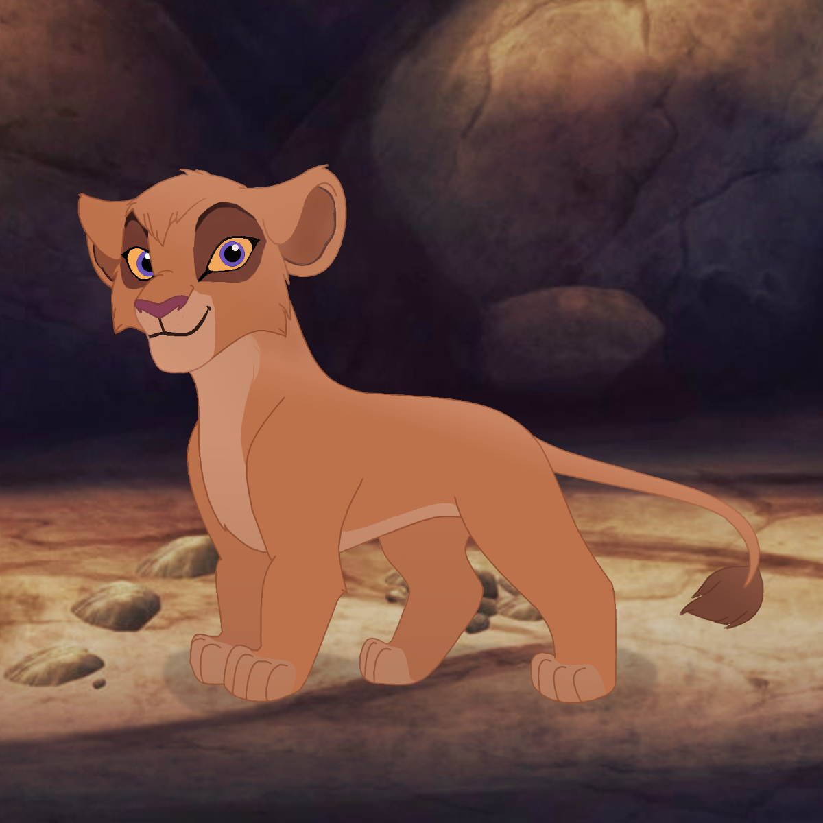 Vitani in The Lion Guard - my guess