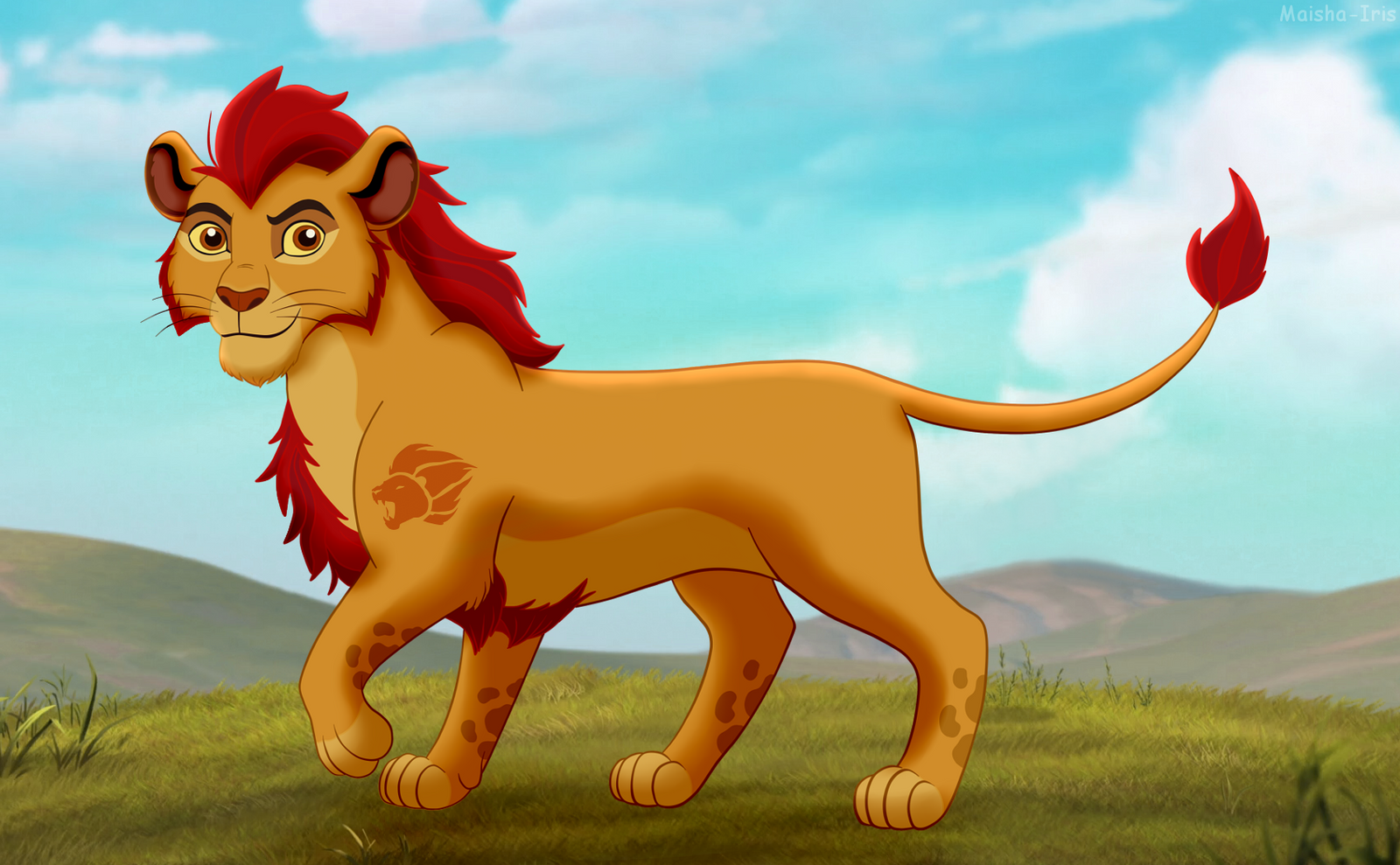 Teen kion by maisha iris on deviantart - Kion le roi lion ...
