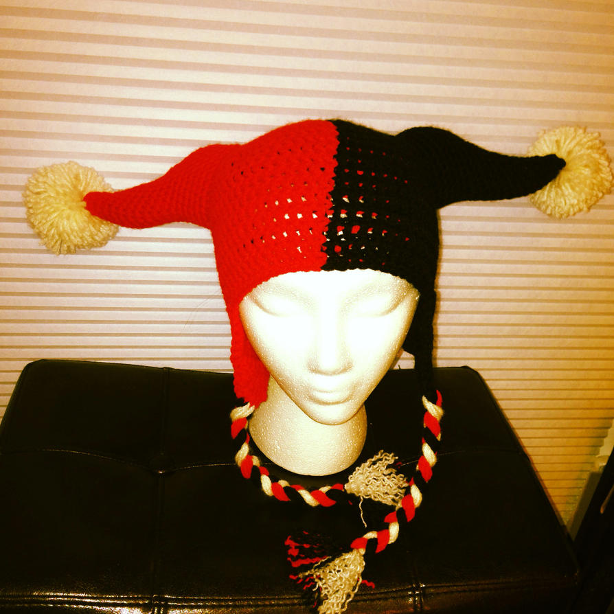 Harlequin Hat by AMTMGIRL