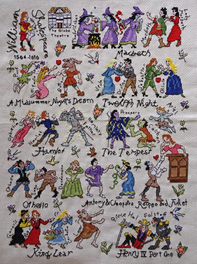 Shakespeare by cloudrat