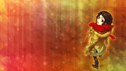 Anime Girl Wallpaper by vampiressrina