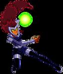 Badass Starfire attacks