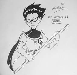MY INKTOBER #1: Robin