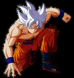 Farewell Goku... by Alienlina