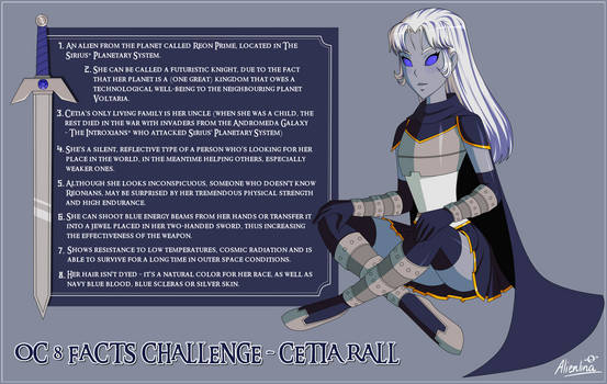 OC 8 facts challenge - Cetia Rall