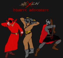 Hexen Bizarre Adventure