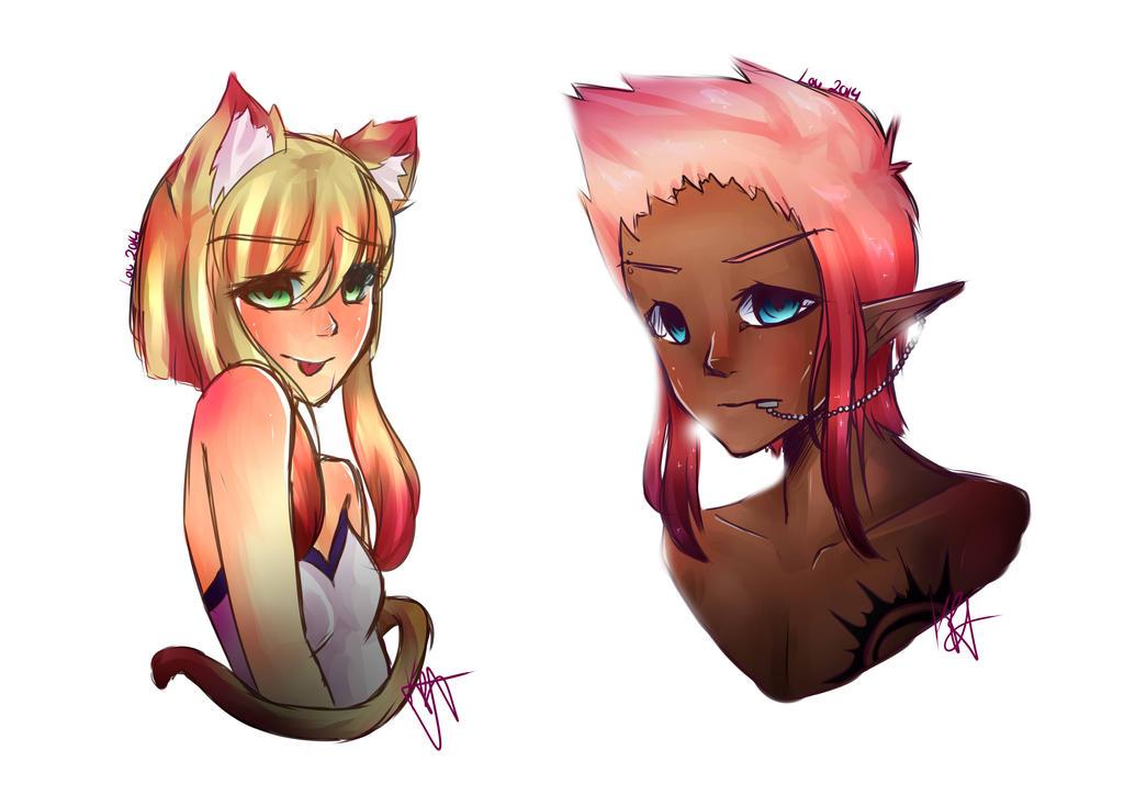 Moar doodles!~ by Kuro-Rey