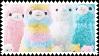 Llama gang   stamp by Astronaut-Bixy