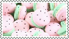 watermelon macarons | stamp by Astronaut-Bixy