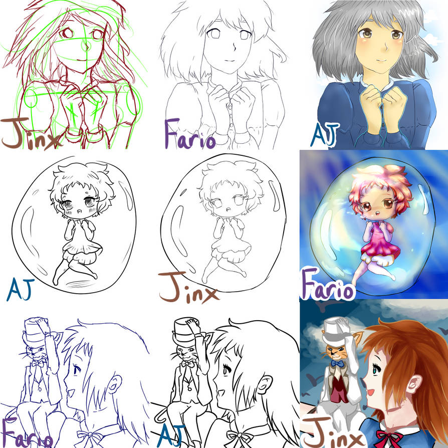 SwitchAround Meme with Fario and AJ by Jinx-ix
