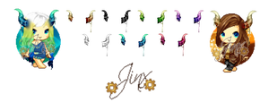 .:Colorful Horns:. (C2U Pack) by Jinx-ix