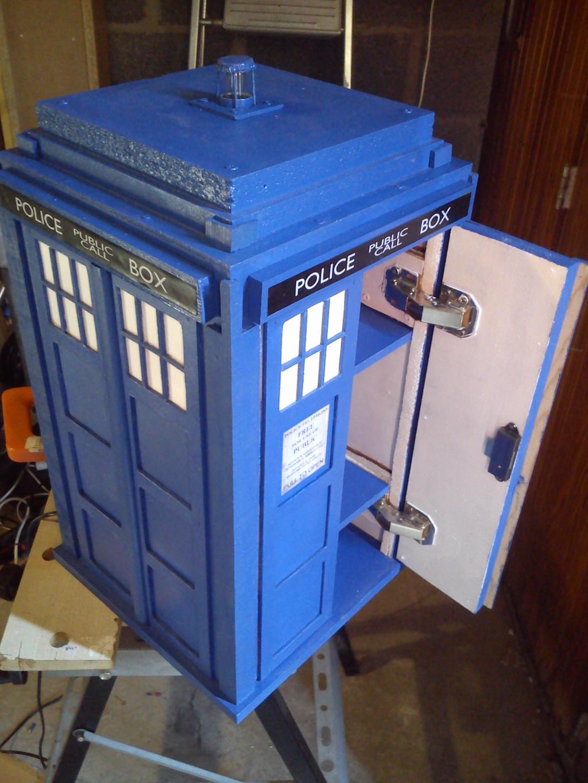 TARDIS Furniture By Adaptator TARDIS Furniture By Adaptator