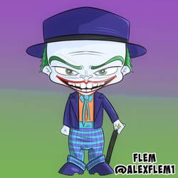 Chibi Cartoon Joker