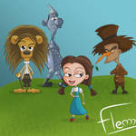 The Wizard of Oz by FleM-Cartoons