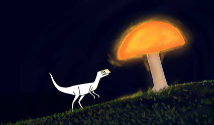 Little dinosaur by Sajid16
