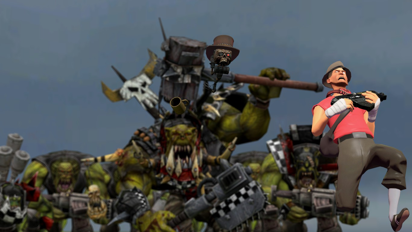 PC loves Warhammer 40k ::Features:: by guywiththesuitcase
