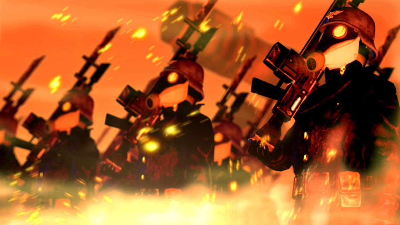 Martyrs of Attrition ::Warhammer 40k:: by guywiththesuitcase