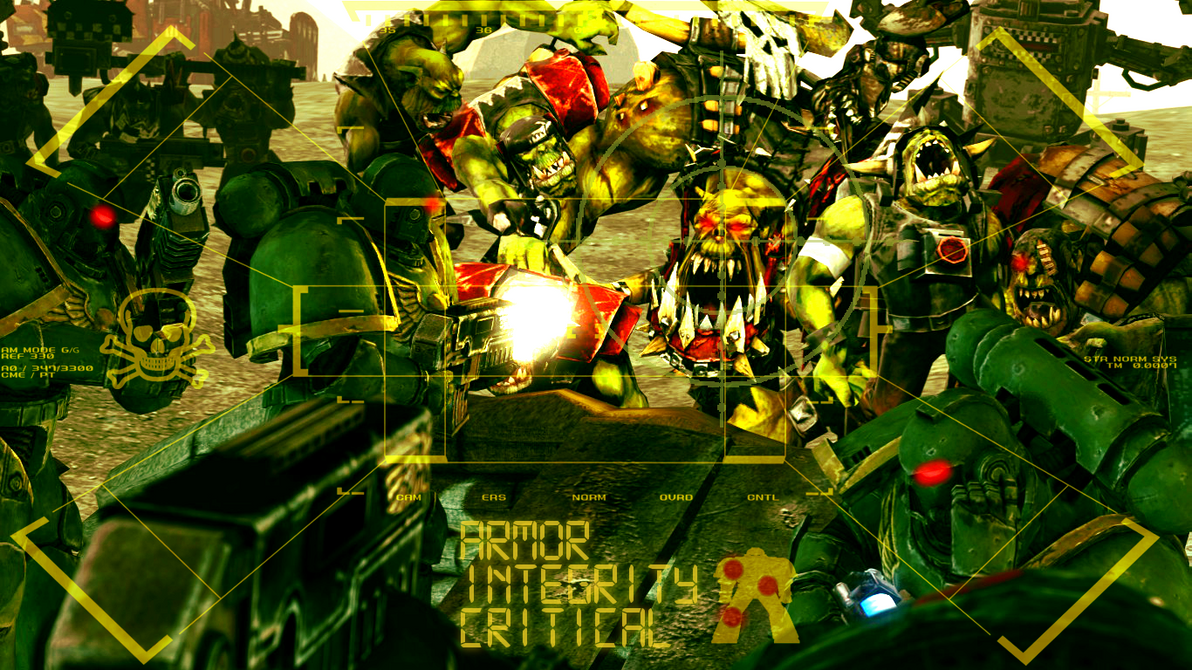 Ork Rush by guywiththesuitcase