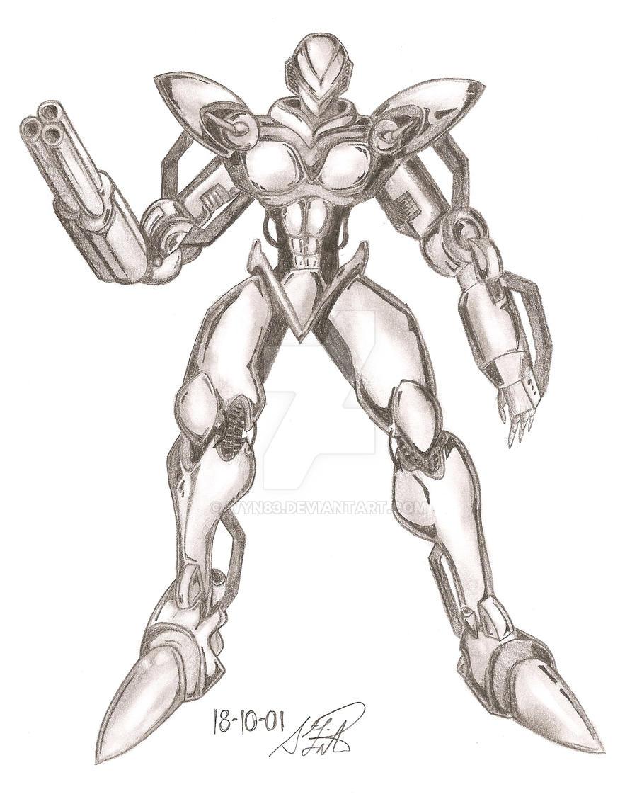 Robot Soldier By Wyn83 On Deviantart