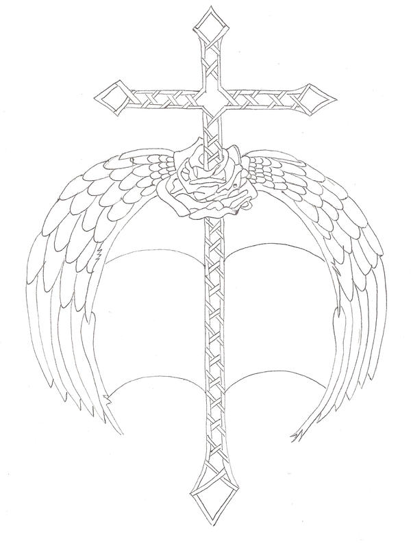Cross sword tattoo by diaryofjanet on deviantart for Crossed swords tattoo