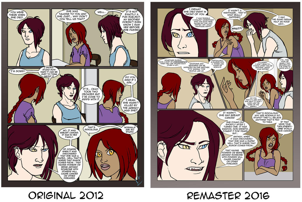 Issue 3 Page 4 Comparison by Musashden