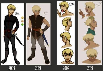 Brice - 10 year comparison by Musashden