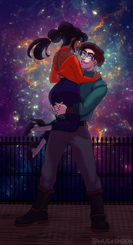 New Years Nebula