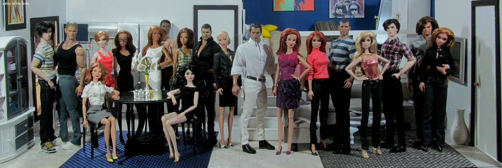 Young Dolls In love Cast by enkilakasha