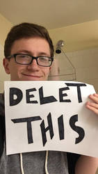 Scott the Woz tells you to Delet This by BillyBob125Poopz