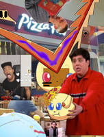 Victini eats Pizza Time and becomes spherical by BillyBob125Poopz