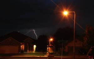 Lightning Strike by DocMallard