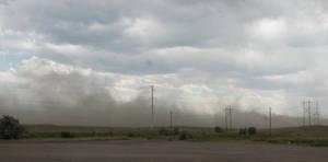 Wyoming Dust Storm by DocMallard