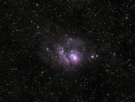 Lagoon Nebula by DocMallard