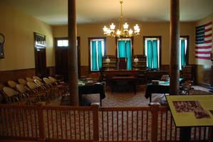 Judge Parker's Courtroom by DocMallard