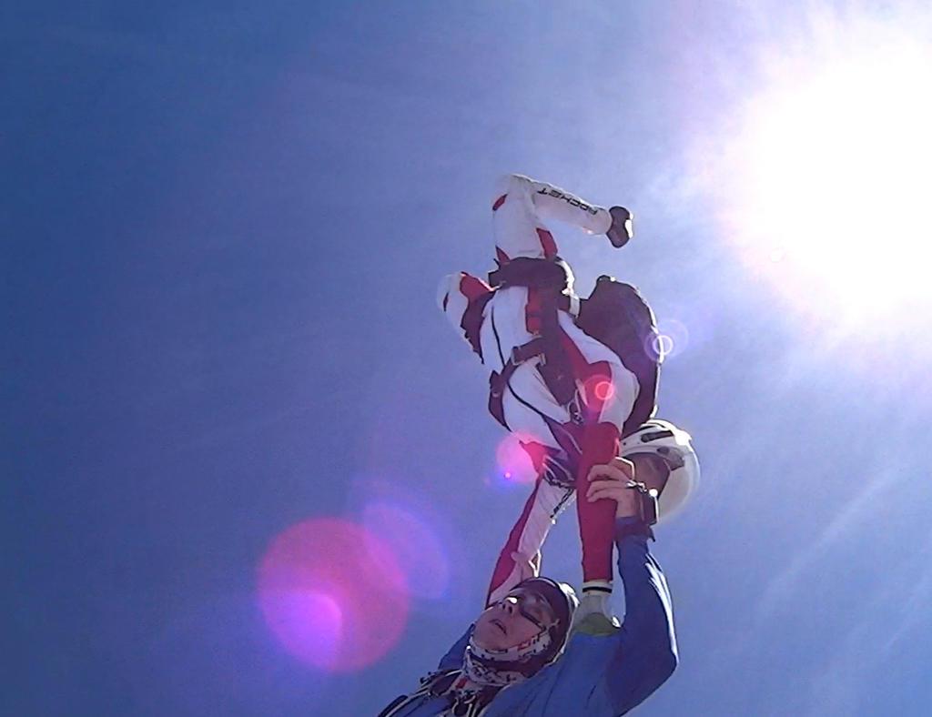 Hanging On! by DocMallard