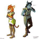 Neopets: Brynn and Hanson