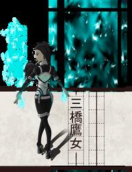 BSD OC: Mitsuhashi Takajo