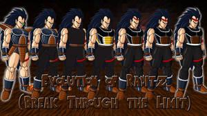 Evolution of Raditz (Break Through the Limit)